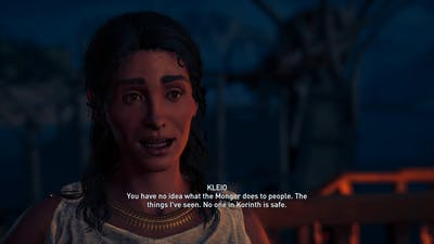 Assassin's creed odyssey Follow that boat & escort service