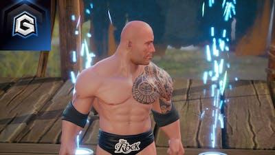 The Rock Ditches Shinsuke Nakamura | WWE 2K Battlegrounds | GameReBorn