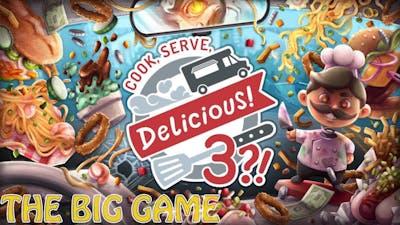 Cook, Serve Delicious! 3?! | Achievement [THE BIG GAME]