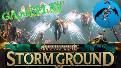 Warhammer Age of Sigmar Storm Ground Gameplay