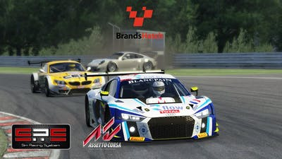 Assetto Corsa | Don't start at mid pack! ヽ(*´∀`)ノ SRS R8 LMS 2016@Brands Hatch