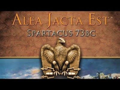Alea Jacta Est game Spartacus 73 bc Spartacus Part 2