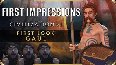 Civ 6 Gaul First Impressions | Civiliation 6 New Frontier Pass