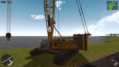 Construction-Simulator 2015 - Liebherr LR 1300 Crawler Crane DLC