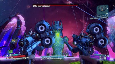 """Borderlands The Pre Sequel: The Sentinel Dropping Two """"ZX-1"""""""