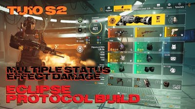 The Division 2 - Eclipse Protocol Build - Gunner Specialization - TU10 - S2