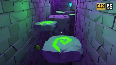 Hot Lava PC - The Forgotten Dungeon Speedrun [ 4k Ultra ]