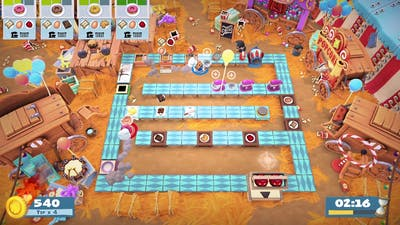 Overcooked 2 Carnival of Chaos 3-1