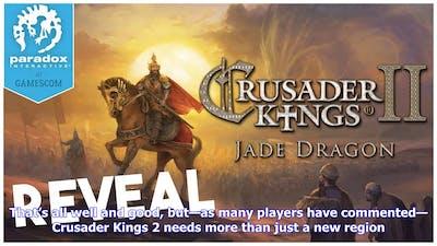 Breaking News | Is crusader kings 2: jade dragon the last ck2 dlc?