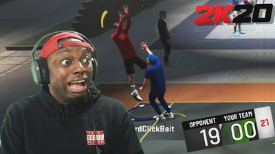 NBA 2k20: My First Neighborhood Game Gone HORRIBLE Wrong!