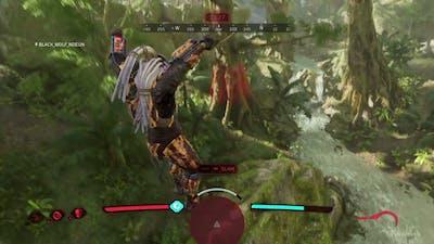 Predator: Hunting Grounds - Noob Predator + Alpha Sickle + Plasma Caster : ALL FIRETEAM MEMBERS KILL