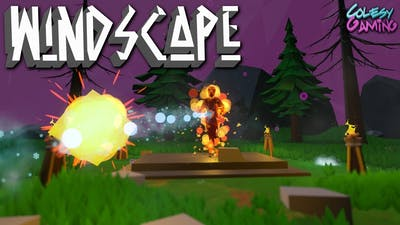 GRAVEYARD BOSS! | Windscape | Indie Game #4