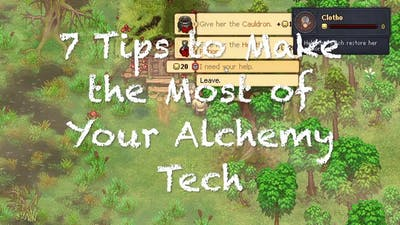 7 Tips for Alchemy in Graveyard Keeper
