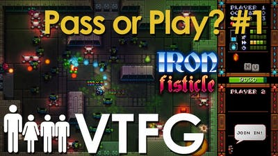 [El Jeffe, 1st Boss] Pass or Play Iron Fisticle  Ep. 1