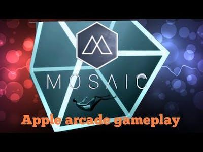 Apple arcade game Mosaic gameplay walkthrough