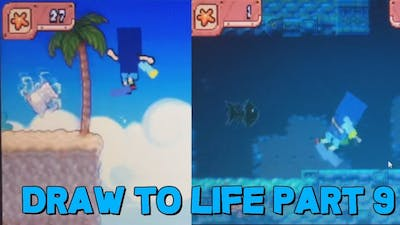 Let's Play Draw To Life Part 9: Surfs Up!