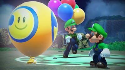 Luigi's Funny Balloons