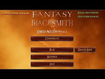 Fantasy Blacksmith - First look
