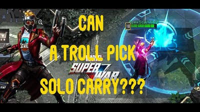Can Starlord Mid Solo Carry? Marvel Super War : Game play & Guide :