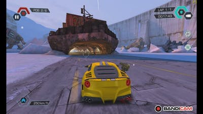 Cyberline racing is a pretty good game but it is banned due to copyrightness.