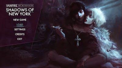 GAMEPLAY Vampire: The Masquerade - Shadows of New York visual novel RPG