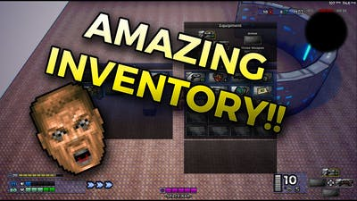 TOWN OF MACHINE Devlog - Amazing New Inventory🧳 (OMG You'll never believe it!!!) 😂🔫
