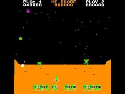 Arcade Game: Dark Warrior (1981 Century Electronics)