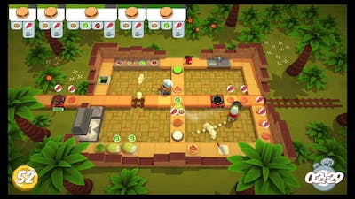 [Overcooked: Lost Morsel Level 1-2] 2-player Former World Record Score: 248