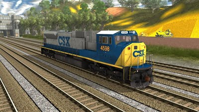 Trainz A New Era [ RRMods Add-On ] - EMD SD80MAC CSX Bright Future (FreeWare)
