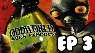 Tee Plays Oddworld Abe's Exoddus (BLIND) Ep 3 - NO1 IS LEFT BEHIND !!!!