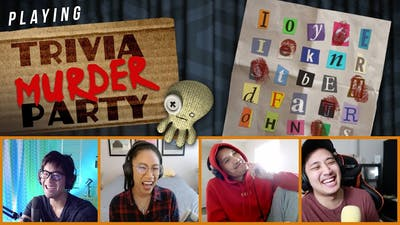 Playing Jack Box: Trivia Murder Party!