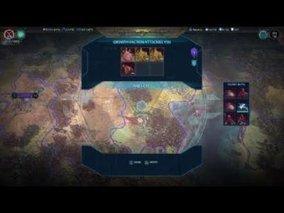 Age of Wonders: Planetfall. Tricky Battle vs. Angry Plants. Victory.