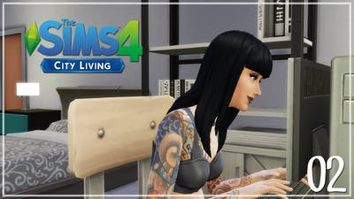 The Sims 4 | City Living: Apartment From Hell [2] | Mousie