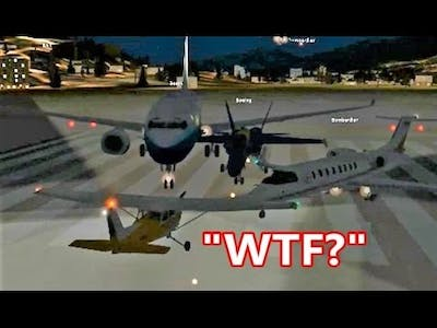 FSX Multiplayer: Angry Pilot Gets TROLLED by Entire Server (Steam Edition)