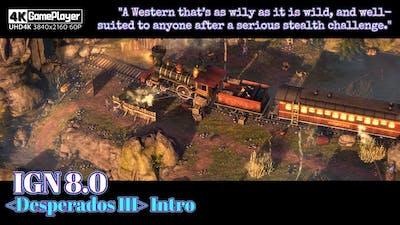 A Ruthless Wild West Scenario Modern Real-time Tactics Game '赏金奇兵3 Desperados III' Intro Gameplay