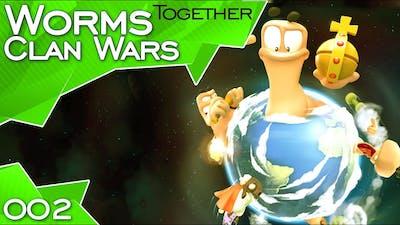 Worms Clan Wars #02: Eierbefruchter [ft. HoneyballLP & FreshFriendz]