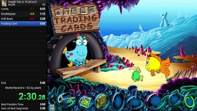 Freddi Fish 5: The Case of the Creature of Coral Cove   Any%   3m 47s