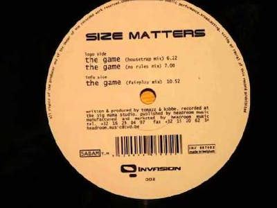 Size Matters - The Game (Housetrap Mix)