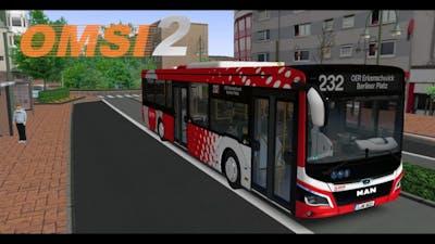 OMSI 2 | 232 Berliner Platz + New MAN Lions City