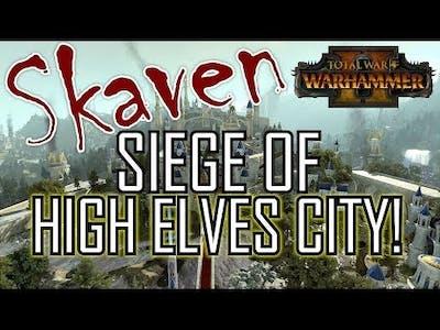 SKAVEN SIEGE! - Total War: Warhammer 2
