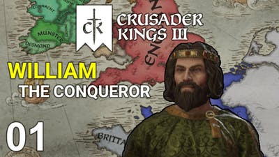 William the Conqueror #1 - Duke of Normandy - Crusader Kings 3 Campaign