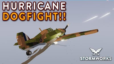 DOGFIGHT WITH ENEMY AI PLANES!! - Search & Destroy Weapons DLC - Stormworks