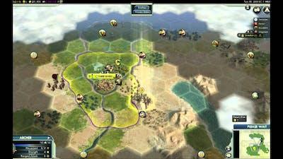 Lets play: Civilization V Wonders of the Ancient World DLC (EGYPT) part 3