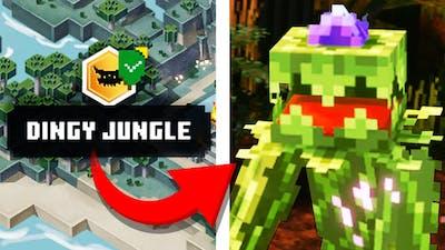 "NEW ""Jungle Awakens"" Minecraft Dungeons DLC - Dingy Jungle Apocalypse Gameplay"
