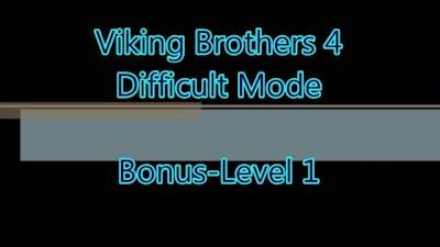 Viking Brothers 4 Bonus-Level 1