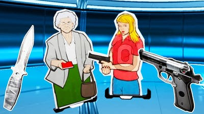 I Saved Grandma With My Amazing Aim in Lethal VR!