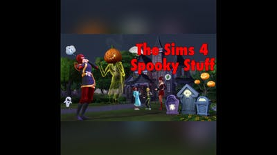 The Sims 4 Spooky Stuff Pack + September 2015 Patch