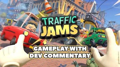 Traffic Jams  | Dev Commentary Gameplay [PEGI]