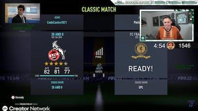 Pieface23 Vs Castro1021 on Fifa 22