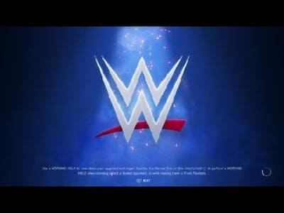 WWE 2K20 Single match